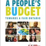 A People's Budget - click image for full PDF of report