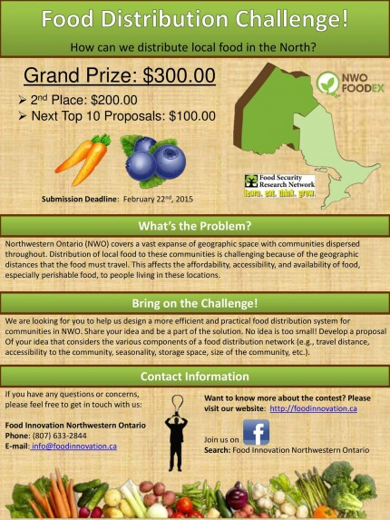 Submit Your Ideas on Efficient Local Food Distribution in