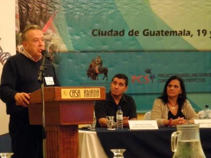Bill Fairbairn in Guatemala
