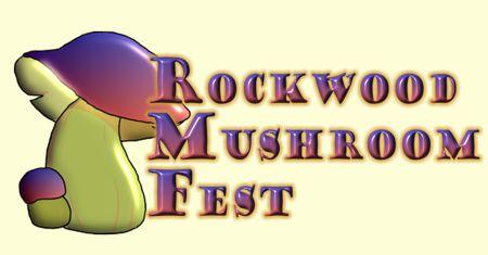 1 Rockwood Mushroom Fest Final Square Logo 3 inch