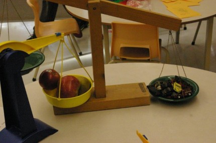Weighing Apples