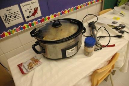 Making Apple Sauce