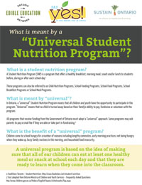 Universal Student Nutrition - Thumbnail